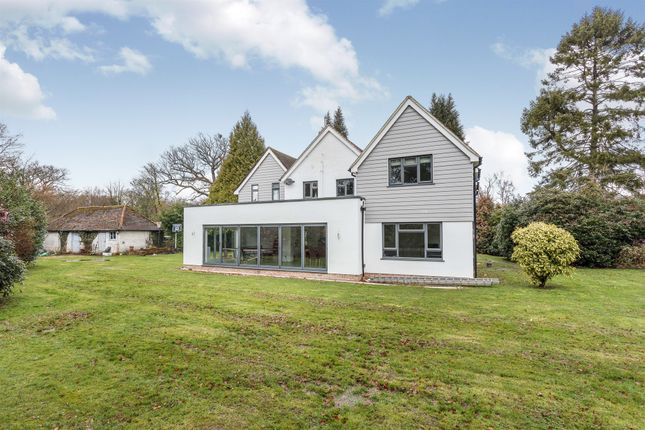 Thumbnail Detached house for sale in Snow Hill, Crawley Down, Crawley