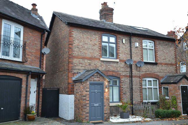 Thumbnail Semi-detached house to rent in Tyler Street, Alderley Edge