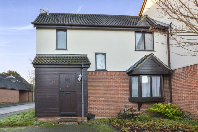 Thumbnail Semi-detached house for sale in Longlands Court, Winslow, Buckingham