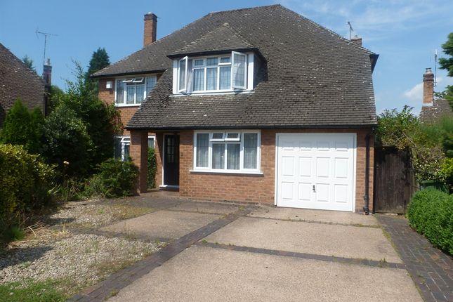 Thumbnail Detached house for sale in Jordan Close, Kenilworth