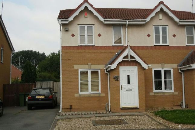Thumbnail Semi-detached house to rent in Haskell Close, Thorpe Astley, Braunstone, Leicester
