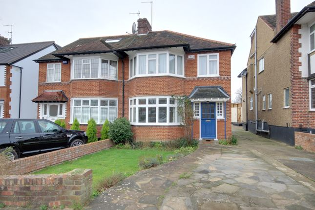 Thumbnail Semi-detached house for sale in The Birches, Winchmore Hill