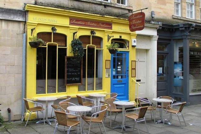 Thumbnail Restaurant/cafe to let in Margarets Buildings, Bath