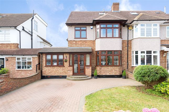 Thumbnail Semi-detached house for sale in Fleet Close, Upminster