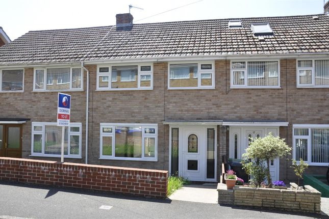 Thumbnail Terraced house to rent in Cottey Crescent, Exeter