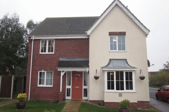 Thumbnail Detached house to rent in Jenkins Green, Lowestoft