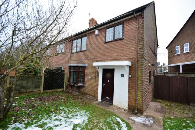 3 bed semi-detached house for sale in Cotswold Avenue, Knutton, Newcastle ST5