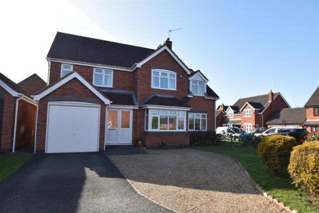 Thumbnail Detached house for sale in Dugard Way, The Ridings, Droitwich Spa
