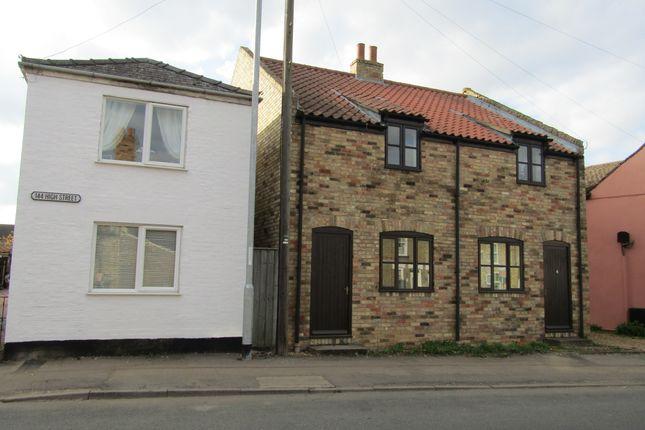 Thumbnail Semi-detached house to rent in Bridge Street, Chatteris