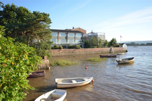 Thumbnail Flat for sale in Strand Court, Topsham, Exeter.