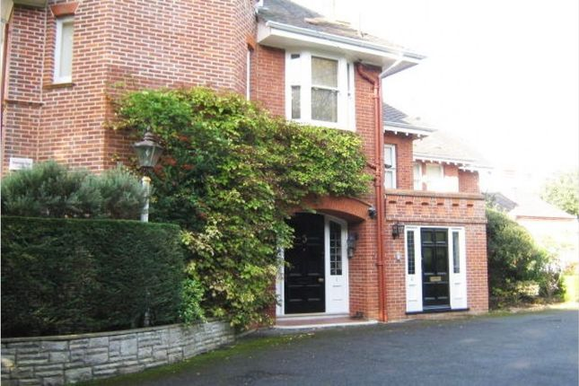 Thumbnail Flat to rent in West Overcliff Drive, Westbourne, Bournemouth
