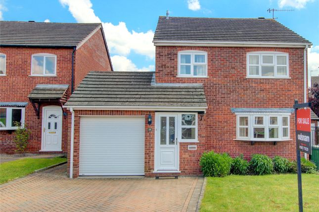 Thumbnail Detached house for sale in Welland Close, Droitwich