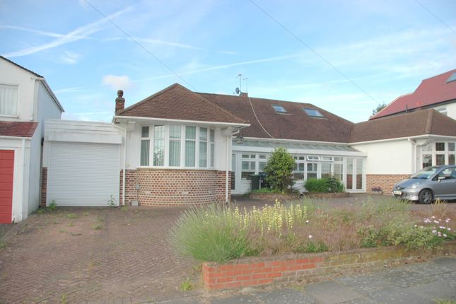 Thumbnail Bungalow for sale in Cranleigh Gardens, Grange Park