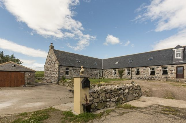Thumbnail Farmhouse for sale in Lochlip Farm, Fraserburgh, Aberdeenshire