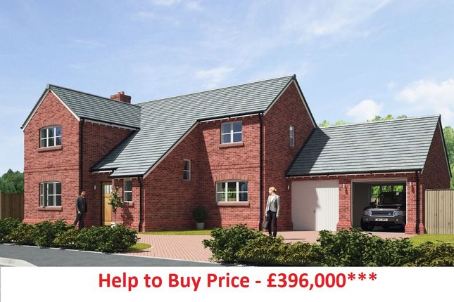 Thumbnail Detached house for sale in Moor Court, Hapsford