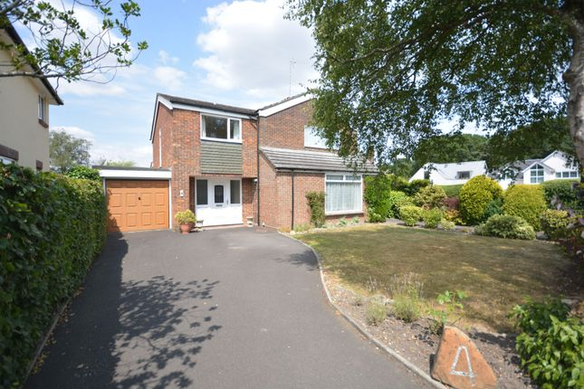 Thumbnail Detached house for sale in Corfe Way, Broadstone