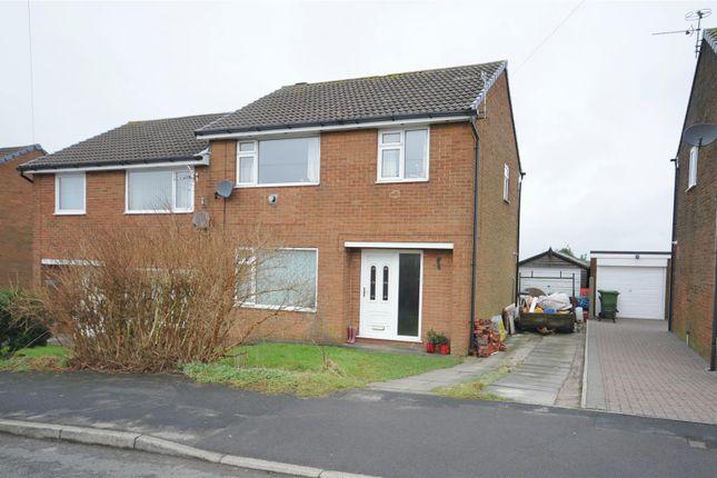 Thumbnail Semi-detached house for sale in Collins Drive, Baxenden, Accrington