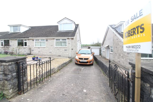 Thumbnail Bungalow for sale in Greenmeadow Drive, Penhow, Caldicot