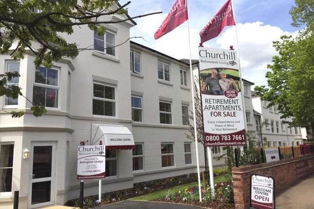 Thumbnail Flat for sale in Arlington Lodge, Arlington Avenue, Leamington Spa