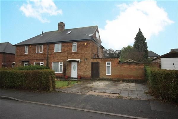 3 bed semi-detached house for sale in Rushford Drive, Wollaton, Nottingham