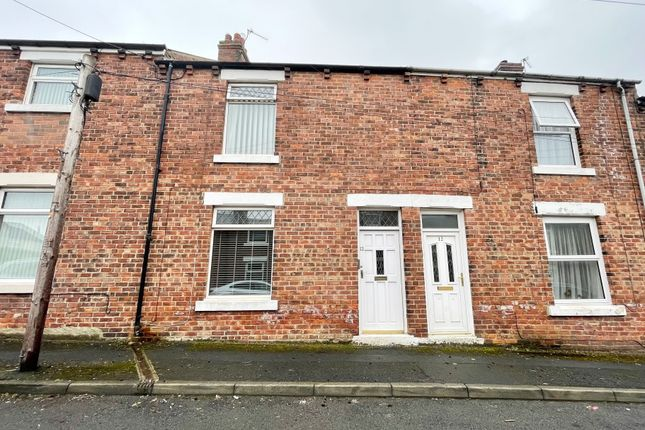 2 bed terraced house for sale in Pearson Street, Kip Hill, Stanley, County Durham DH9