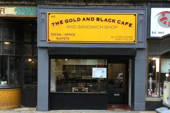 Restaurant/cafe for sale in 46 Lichfield Street, Wolverhampton