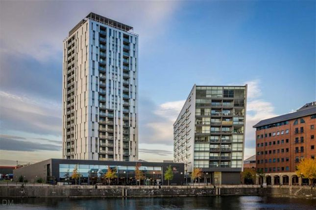 Thumbnail Flat to rent in Millenium Tower, The Quays, Salford Quays, Salford, Greater Manchester