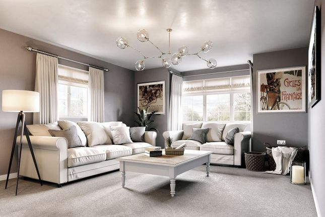 CGI Of Living Room