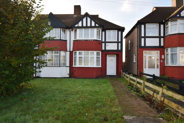 3 bed semi-detached house to rent in East Rochester Way, Sidcup DA15