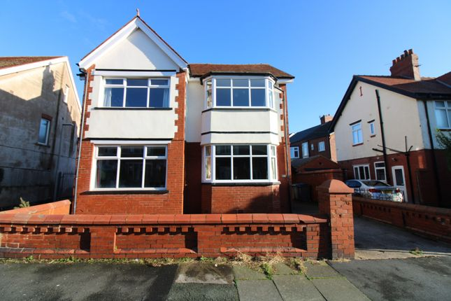 4 bed detached house for sale in Lincoln Road, Blackpool, Lancashire FY1