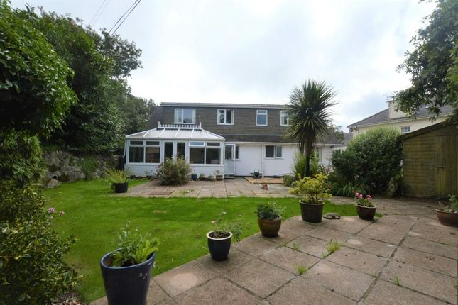 Thumbnail Detached bungalow for sale in Crowan, Praze, Camborne, Cornwall