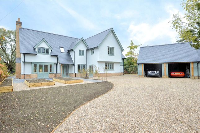 Thumbnail Detached house for sale in Walden Road, Sewards End, Nr Saffron Walden, Essex
