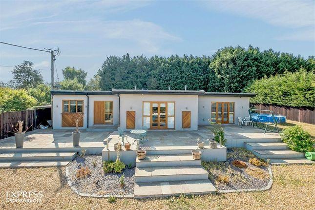 Thumbnail Detached bungalow for sale in Westwood Lane, Normandy, Guildford, Surrey