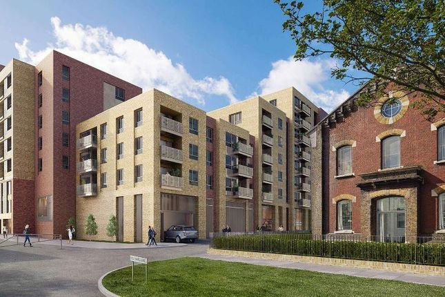 Thumbnail 2 bed flat for sale in Smithfield Square, High Street, Crouch End, London