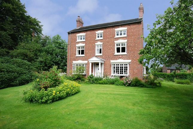 Thumbnail Detached house for sale in Bank House Farm, Caverswall, Staffordshire