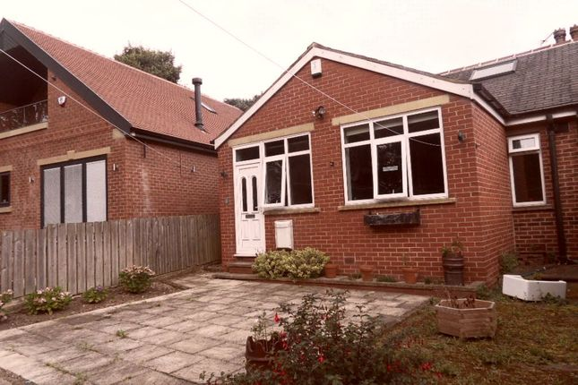 Thumbnail Semi-detached bungalow to rent in Park Road, Earlsheaton, Dewsbury, West Yorkshire