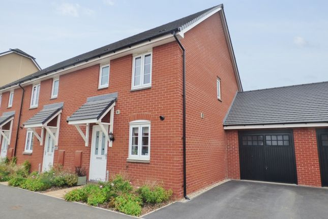 Thumbnail Semi-detached house for sale in Hockmore Drive, Newton Abbot