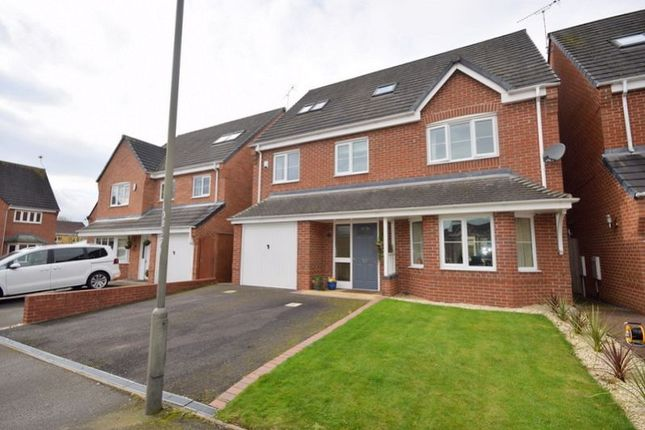 Thumbnail Detached house for sale in Mitchells Close, Etwall, Derby