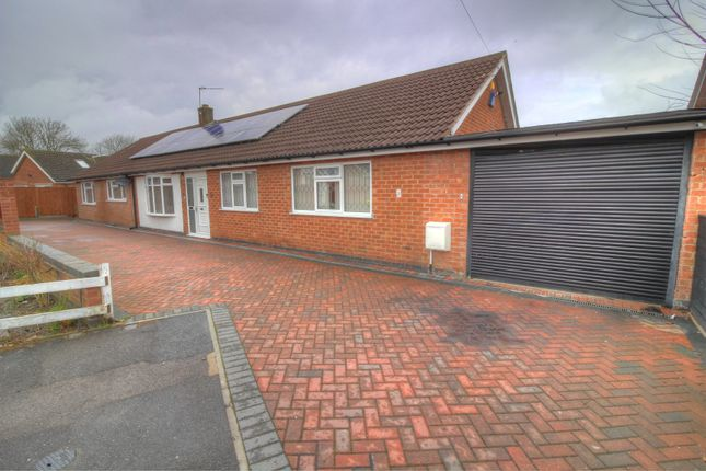 Thumbnail Bungalow for sale in Ballater Close, Leicester