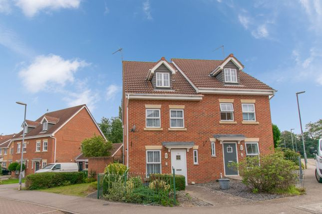 Thumbnail Semi-detached house for sale in Middlebrook Green, Market Harborough