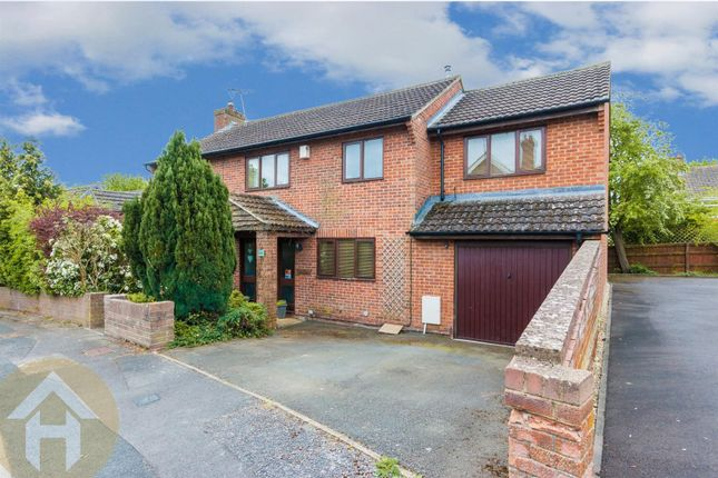 Thumbnail Detached house for sale in North Bank Rise, Royal Wootton Bassett, Swindon
