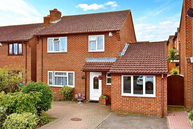 Thumbnail Detached house for sale in Clayford Close, West Canford Heath, Poole