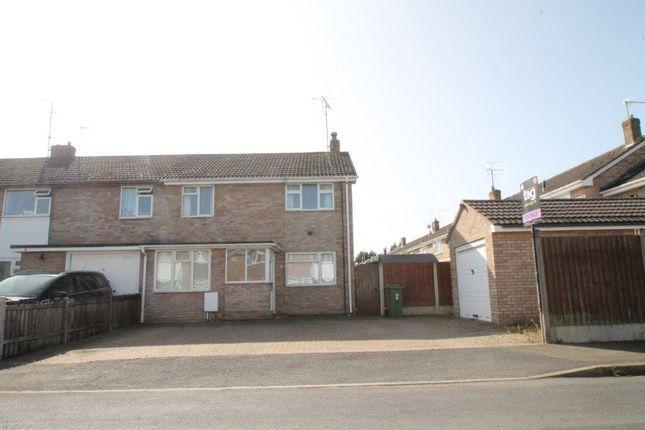 Thumbnail End terrace house for sale in Howard Road, Northway, Tewkesbury