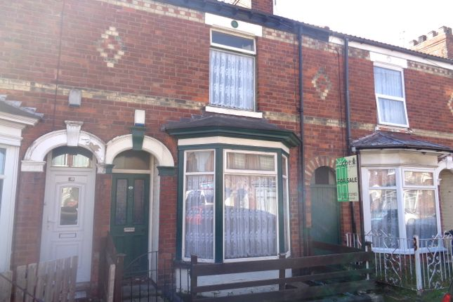 Thumbnail Terraced house for sale in Torrington Street, Hull