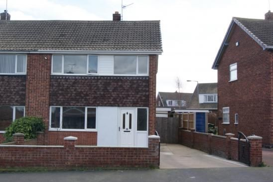 Thumbnail Semi-detached house to rent in Lutterworth Drive, Doncaster
