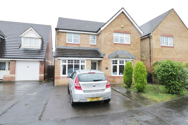 Thumbnail Detached house for sale in Viscount Evan Drive, Newport