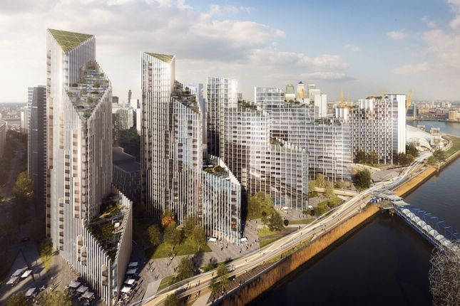 Thumbnail Flat for sale in Upper Riverside, Greenwich Peninsula SE10, London,