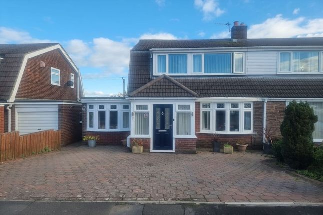 Thumbnail Semi-detached house for sale in Greenways, Consett