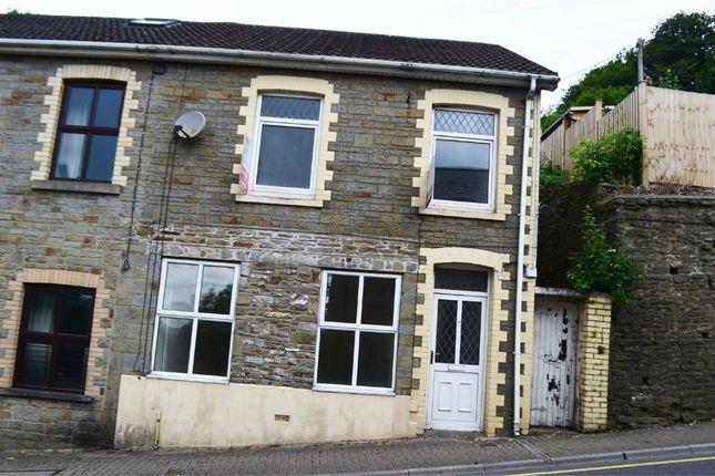 Thumbnail Semi-detached house for sale in High Street, Llantrisant, Pontyclun, Mid Glamorgan