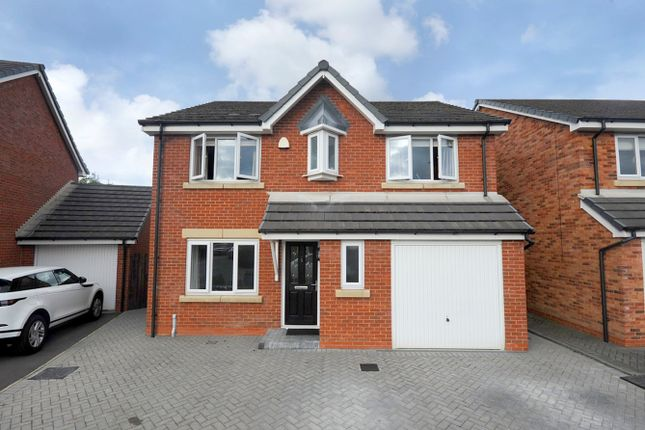 Thumbnail Detached house for sale in Green House Close, Lowton, Warrington